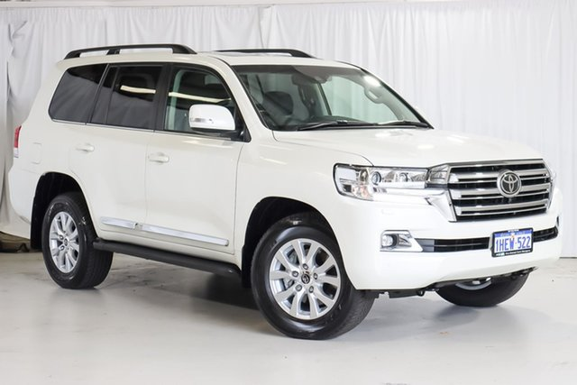 Used Toyota Landcruiser VDJ200R Sahara Wangara, 2020 Toyota Landcruiser VDJ200R Sahara White 6 Speed Sports Automatic Wagon