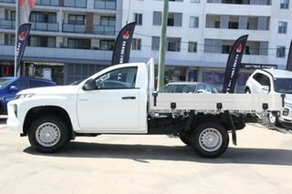 2021 Mitsubishi Triton MR MY21 GLX 4x2 White 6 Speed Sports Automatic Cab Chassis