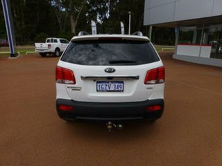 2012 Kia Sorento XM MY12 Platinum (4x4) White 6 Speed Automatic Wagon.