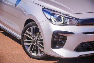 2020 Kia Rio YB MY20 GT-Line DCT Silver 7 Speed Sports Automatic Dual Clutch Hatchback.