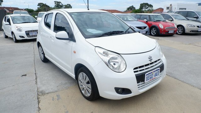 Used Suzuki Alto GF GL St James, 2013 Suzuki Alto GF GL White 4 Speed Automatic Hatchback
