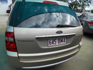 2006 Ford Territory SY Ghia Gold 4 Speed Sports Automatic Wagon