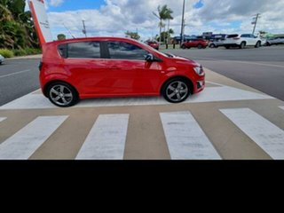 2016 Holden Barina TM MY16 RS Red 6 Speed Manual Hatchback.