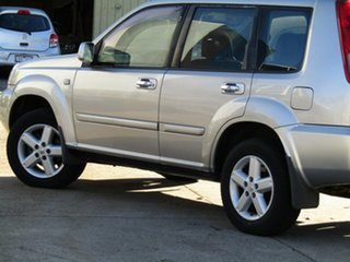 2007 Nissan X-Trail T30 II MY06 TI-L Silver 4 Speed Automatic Wagon