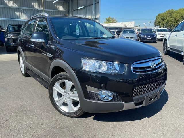 Used Holden Captiva CG Series II MY12 7 AWD LX Hillcrest, 2012 Holden Captiva CG Series II MY12 7 AWD LX Black 6 Speed Sports Automatic Wagon