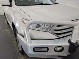 2011 Toyota Kluger GSU45R MY11 KX-S AWD White 5 Speed Sports Automatic Wagon.