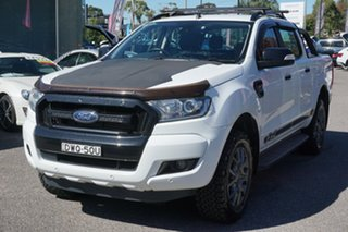 2018 Ford Ranger PX MkII 2018.00MY FX4 Double Cab White 6 Speed Sports Automatic Utility