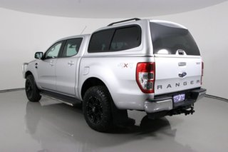 2017 Ford Ranger PX MkII MY17 XLT 3.2 (4x4) Silver 6 Speed Automatic Double Cab Pick Up