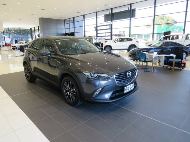 Used Mazda CX-3 DK2W7A sTouring SKYACTIV-Drive Edwardstown, 2017 Mazda CX-3 sTouring SKYACTIV-Drive Wagon