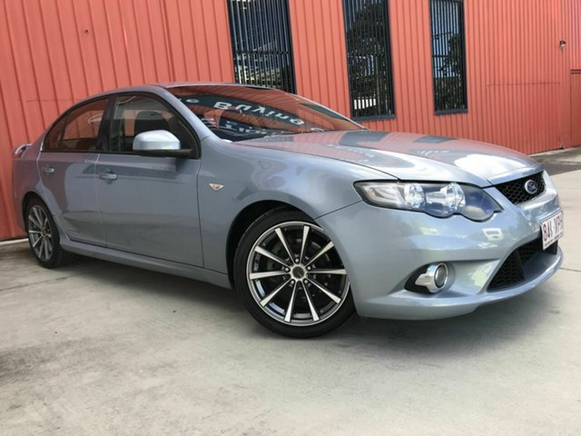 Used Ford Falcon FG XR6 Molendinar, 2008 Ford Falcon FG XR6 Grey 5 Speed Sports Automatic Sedan