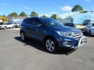 2019 Ford Escape ZG 2019.25MY Trend Blue Metallic 6 Speed Automatic SUV.