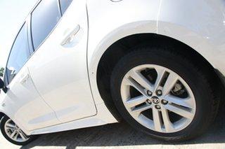 2019 Toyota Corolla Hatch Hybrid ZWE211R Ascent Sport E-CVT Hybrid Glacier White 10 Speed