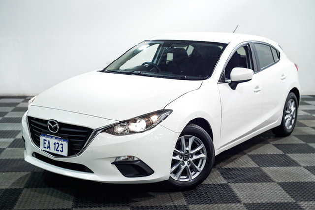 Used Mazda 3 BN5478 Maxx SKYACTIV-Drive Edgewater, 2016 Mazda 3 BN5478 Maxx SKYACTIV-Drive White 6 Speed Sports Automatic Hatchback