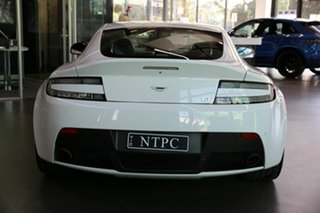 2015 Aston Martin V8 MY16 Vantage Sportshift II GT White 7 Speed Seq Manual Auto-Clutch Coupe