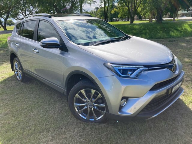 Pre-Owned Toyota RAV4 ALA49R Cruiser AWD South Grafton, 2017 Toyota RAV4 ALA49R Cruiser AWD Silver Sky 6 Speed Sports Automatic Wagon