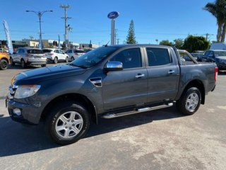 2013 Ford Ranger PX XLT Double Cab Metropolitan Grey 6 Speed Sports Automatic Utility.