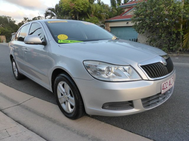Used Skoda Octavia 1Z MY09 1.6 Southport, 2009 Skoda Octavia 1Z MY09 1.6 Silver 6 Speed Tiptronic Liftback
