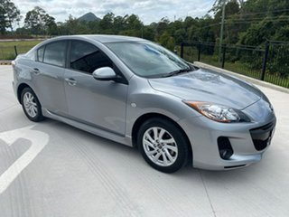 2013 Mazda 3 BL10F2 MY13 Maxx Sport Silver 6 Speed Manual Sedan.