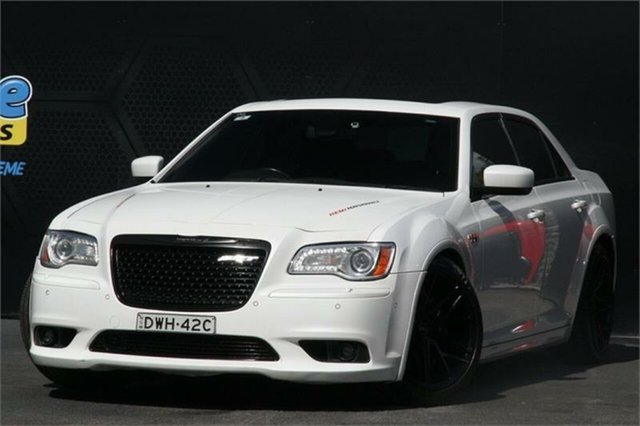 Used Chrysler 300 LX MY14 SRT-8 Campbelltown, 2014 Chrysler 300 LX MY14 SRT-8 Beige 5 Speed Sports Automatic Sedan