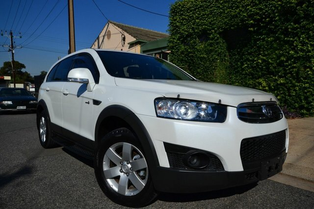 Used Holden Captiva CG MY12 7 SX (FWD) Blair Athol, 2013 Holden Captiva CG MY12 7 SX (FWD) White 6 Speed Automatic Wagon