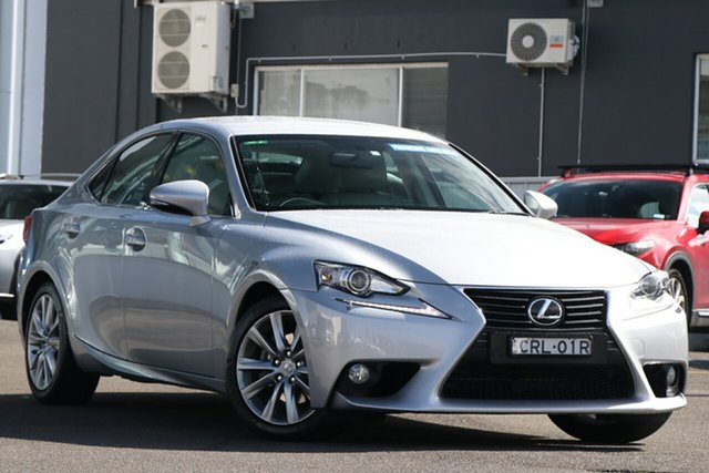 Used Lexus IS GSE30R IS250 Luxury Brookvale, 2013 Lexus IS GSE30R IS250 Luxury Silver 6 Speed Sports Automatic Sedan
