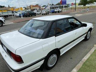 1992 Subaru Liberty GX White 4 Speed Automatic Sedan.