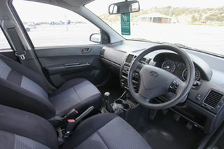 2008 Hyundai Getz TB MY07 S Black 5 Speed Manual Hatchback.