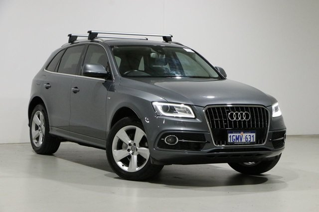 Used Audi Q5 8R MY15 2.0 TFSI Quattro Bentley, 2015 Audi Q5 8R MY15 2.0 TFSI Quattro Grey 8 Speed Automatic Wagon