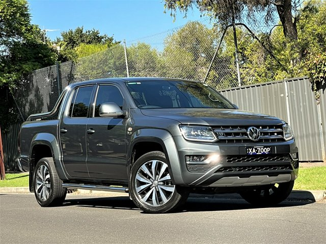 Used Volkswagen Amarok 2H MY19 TDI580 4MOTION Perm Ultimate Hyde Park, 2019 Volkswagen Amarok 2H MY19 TDI580 4MOTION Perm Ultimate Grey 8 Speed Automatic Utility