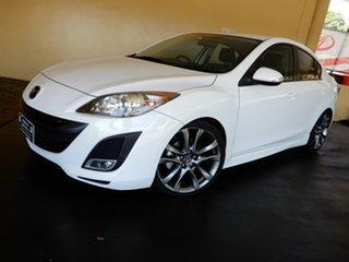 2010 Mazda 3 BL 10 Upgrade SP25 White 5 Speed Automatic Sedan
