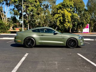 2018 Ford Mustang FN 2018MY GT Fastback SelectShift Matte Army Green/leather 10 Speed