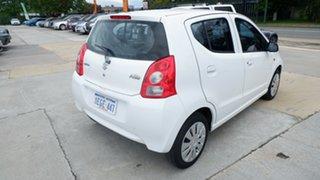 2013 Suzuki Alto GF GL White 4 Speed Automatic Hatchback