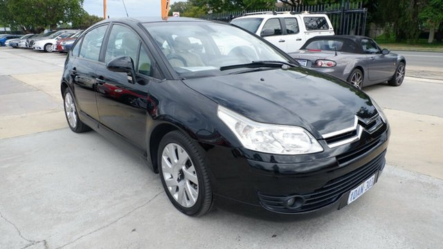 Used Citroen C4 2.0 HDi St James, 2008 Citroen C4 2.0 HDi Black 6 Speed Automatic Hatchback