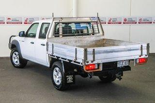 2011 Mazda BT-50 09 Upgrade Boss B3000 DX (4x4) White 5 Speed Manual Dual Cab Pick-up.