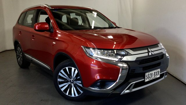 Used Mitsubishi Outlander ZL MY18.5 ES 2WD Elizabeth, 2018 Mitsubishi Outlander ZL MY18.5 ES 2WD Red 6 Speed Constant Variable Wagon