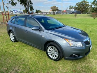 2014 Holden Cruze JH Series II MY14 CD Sportwagon Grey 6 Speed Sports Automatic Wagon.