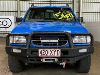 1998 Holden Rodeo TF R7 LX Crew Cab Blue 5 Speed Manual Utility