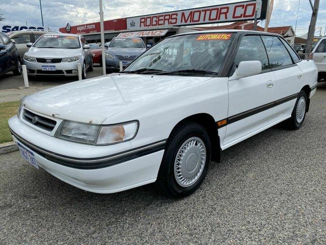 Used Subaru Liberty GX Victoria Park, 1992 Subaru Liberty GX White 4 Speed Automatic Sedan