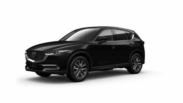 Demo Mazda CX-5 KF4WLA GT SKYACTIV-Drive i-ACTIV AWD Toowoomba, 2021 Mazda CX-5 KF4WLA GT SKYACTIV-Drive i-ACTIV AWD Jet Black 6 Speed Sports Automatic Wagon