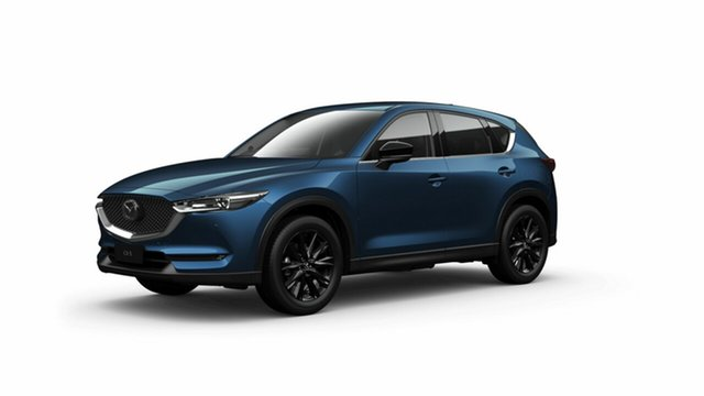 Demo Mazda CX-5 KF4WLA GT SKYACTIV-Drive i-ACTIV AWD SP Toowoomba, 2021 Mazda CX-5 KF4WLA GT SKYACTIV-Drive i-ACTIV AWD SP Eternal Blue 6 Speed Sports Automatic Wagon