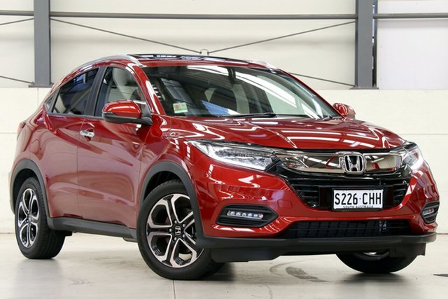 Demo Honda HR-V MY21 VTi-LX Glen Osmond, 2020 Honda HR-V MY21 VTi-LX Passion Red 1 Speed Constant Variable Hatchback