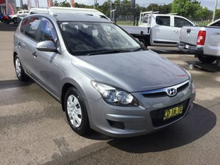 2011 Hyundai i30 FD MY11 SX cw Wagon Silver 5 Speed Manual Wagon.