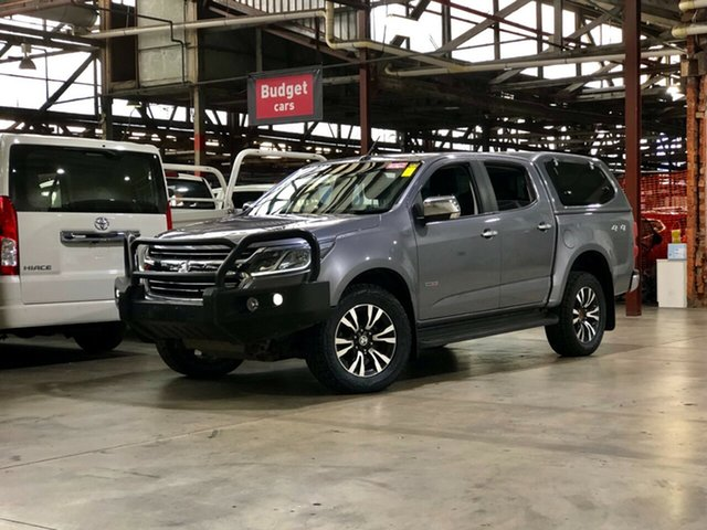 Used Holden Colorado RG MY17 LTZ Pickup Crew Cab Mile End South, 2017 Holden Colorado RG MY17 LTZ Pickup Crew Cab Grey 6 Speed Sports Automatic Utility
