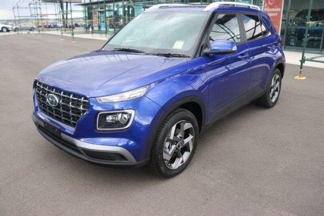 New Hyundai Venue QX.V3 MY21 Elite Augustine Heights, 2021 Hyundai Venue QX.V3 MY21 Elite Intense Blue 6 Speed Automatic Wagon
