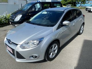 2012 Ford Focus LW MkII Trend PwrShift Ingot Silver 6 Speed Sports Automatic Dual Clutch Hatchback.