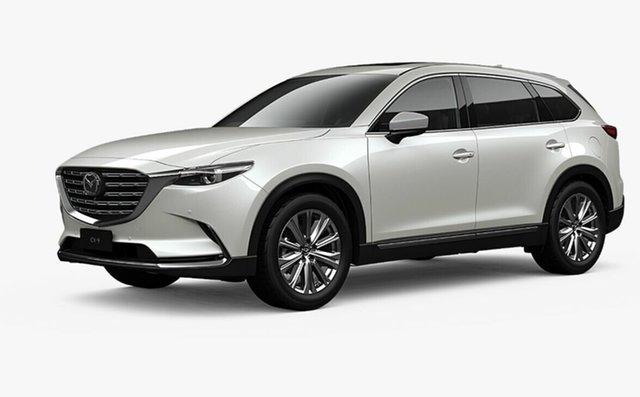 Demo Mazda CX-9 TC Azami LE SKYACTIV-Drive i-ACTIV AWD Toowoomba, 2020 Mazda CX-9 TC Azami LE SKYACTIV-Drive i-ACTIV AWD Snowflake White Pearl 6 Speed