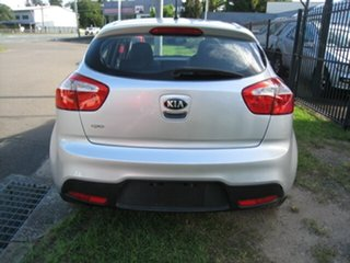 2013 Kia Rio UB MY13 S Silver 4 Speed Automatic Hatchback
