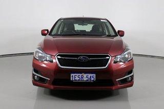 2015 Subaru Impreza MY15 2.0I Premium (AWD) Burgundy Continuous Variable Hatchback.