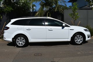 2010 Ford Mondeo MB MY11 LX PwrShift TDCi White 6 Speed Sports Automatic Dual Clutch Wagon