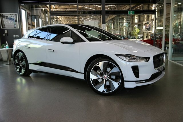 Used Jaguar I-Pace X590 MY19 HSE North Melbourne, 2018 Jaguar I-Pace X590 MY19 HSE White 1 Speed Automatic Wagon